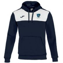 Ballymoney Hockey Club Joma Winner Sweatshirt With Hood Navy/White Adults 2019